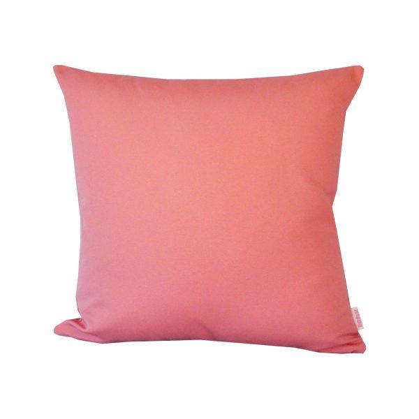 Salmon 45x45cm Sunbrella outdoor cushion