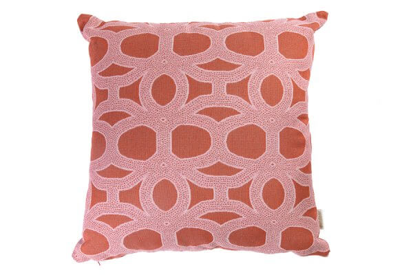 Seychelles Rust Sunbrella Outdoor Cushion