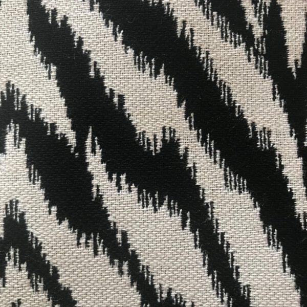 Zanzibar Black Sunbrella fabric swatch