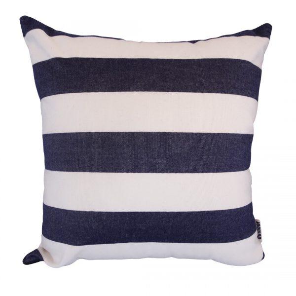 Positano Navy 40x40cm Sunbrella outdoor cushion
