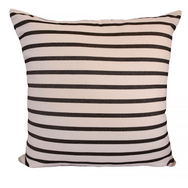 Biarittz Black 60x60cm outdoor cushion