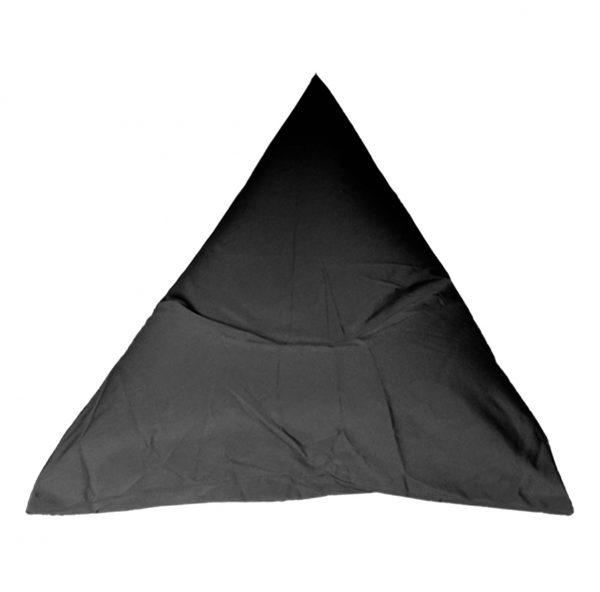 Black Sunbrella outdoor bean bag