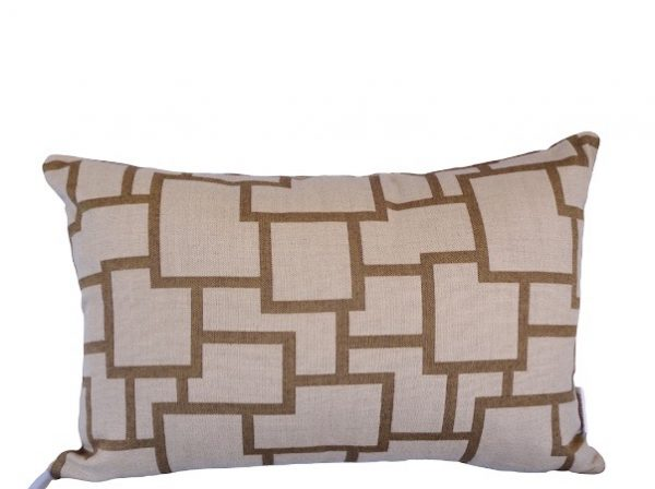 Bordeaux Teak 30x4cm Sunbrella outdoor cushion