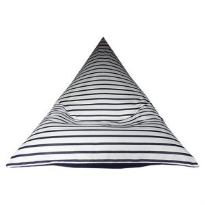 Capri Navy Outdoor Bean Bag