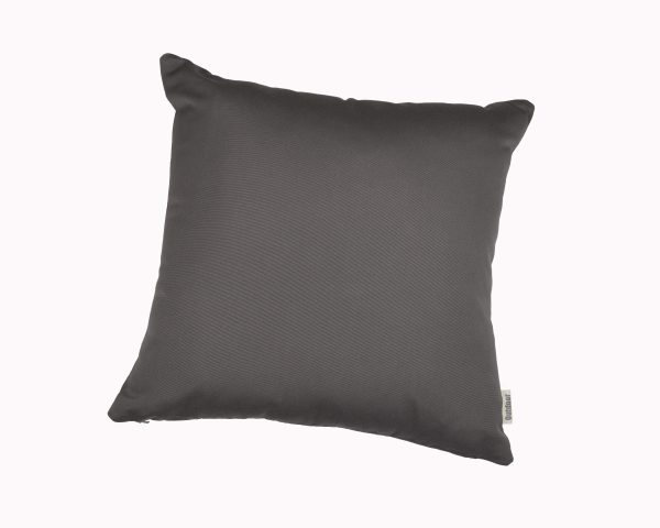 Charcoal Grey 45x45cm Sunbrella outdoor cushion from Outdoor Interiors