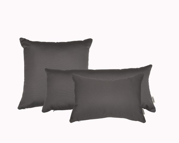 Charcoal Grey Group Sunbrella outdoor cushion from Outdoor Interiors