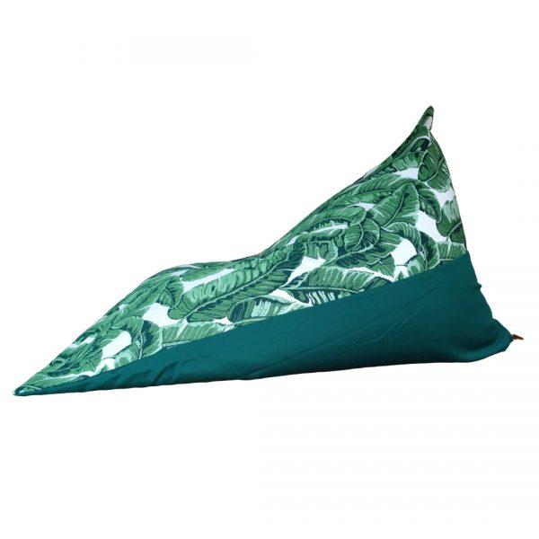 Maui Green Sunbrella outdoor bean bag