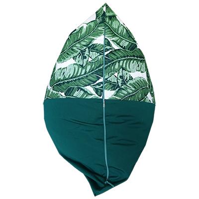 Maui Green back view outdoor bean bag