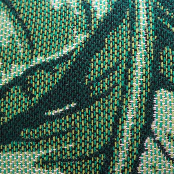 Maui Green close up Sunbrella fabric swatch