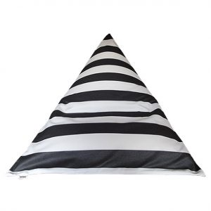 Monte Carlo Black Outdoor Bean Bag