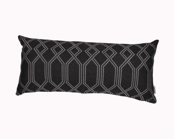 Navajo Grey 30x65cn Sunbrella outdoor cushion from Outdoor Interiors