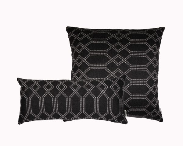 Navajo Grey group Sunbrella Outdoor Cushions from Outdoor Interiors