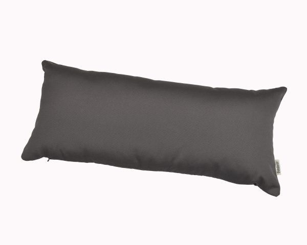 Charcoal Grey 30x65cm Sunbrella outdoor cushion from Outdoor Interiors