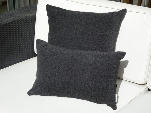 Loft Grey Sunbrella outdoor cushions