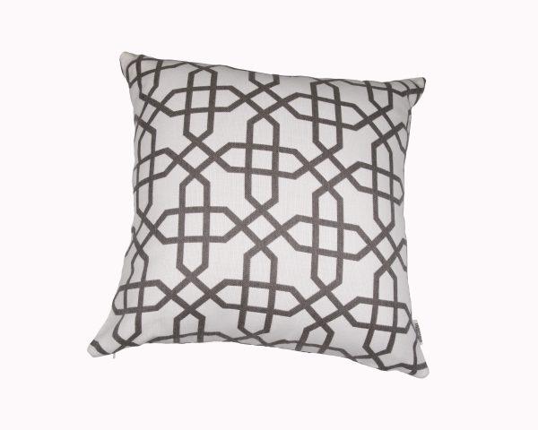 Naxos Grey 50x50cm Sunbrella Outdoor Cushion from Outdoor Interiors