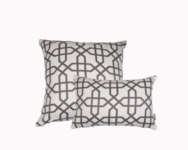 Naxos Grey group Sunbrella outdoor cushion from Outdoor Interiors