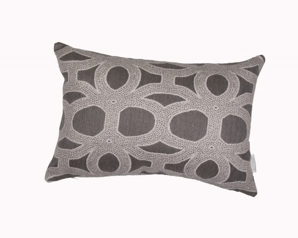 Seychelles Grey 30x45cm Sunbrella outdoor cushion from Outdoor Interiors