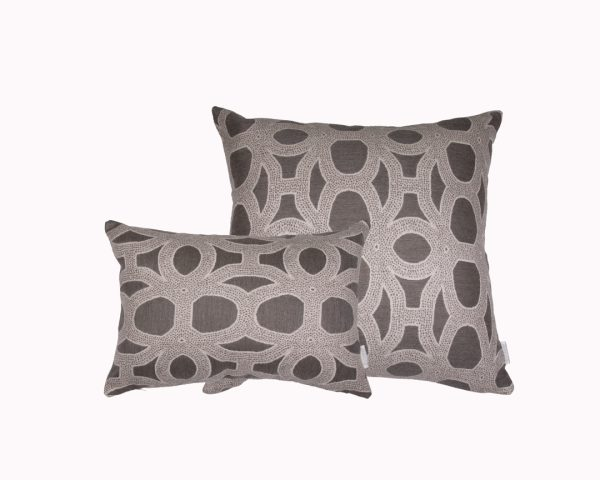 Seychelles Grey group Sunbrella outdoor cushion from Outdoor Interiors