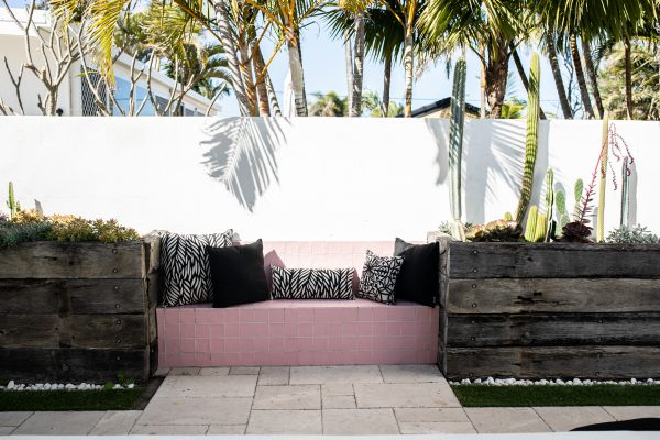 Various Black ranges of Sunbrella outdoor cushions from Outdoor Interiors