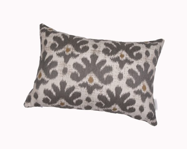 Mykonos Grey 30x45cm Sunbrella outdoor cushions from Outdoor Interiors