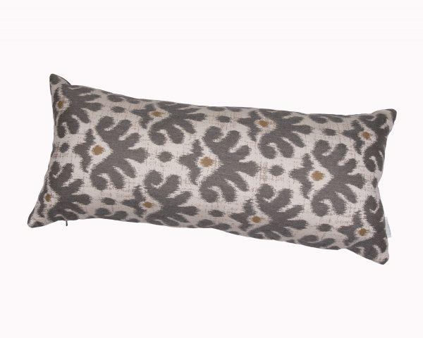 Mykonos Grey 30x65cm Sunbrella outdoor cushion from Outdoor Interiors