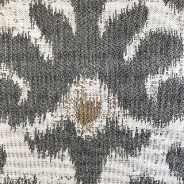 Mykonos Grey Sunbrella fabric swatch