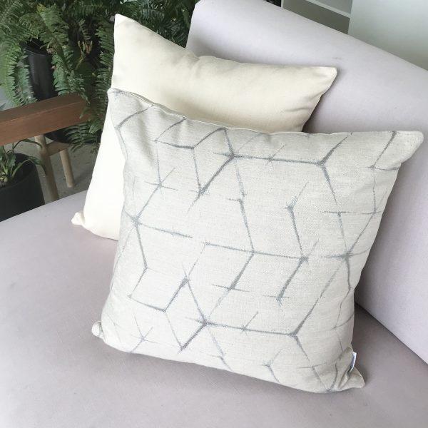Narita Cream and Cream Sunbrella Outdoor Cushions from Outdoor Interiors