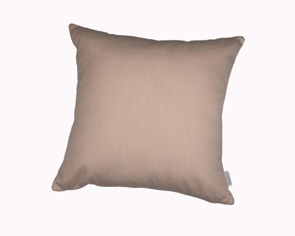 Vellum Cream 45x45cm Sunbrella outdoor cushion from Outdoor Interiors