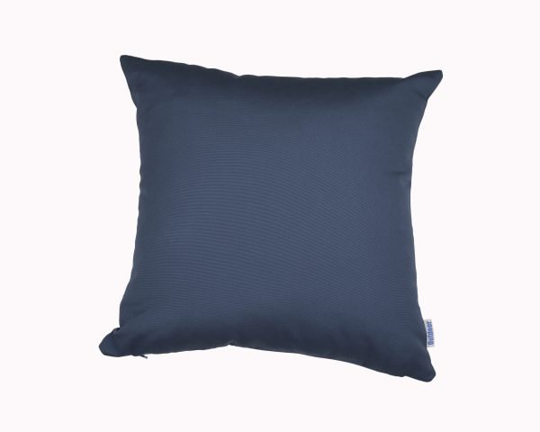 Blue 45cm x 45cm Sunbrella outdoor cushion from Outdoor Interiors