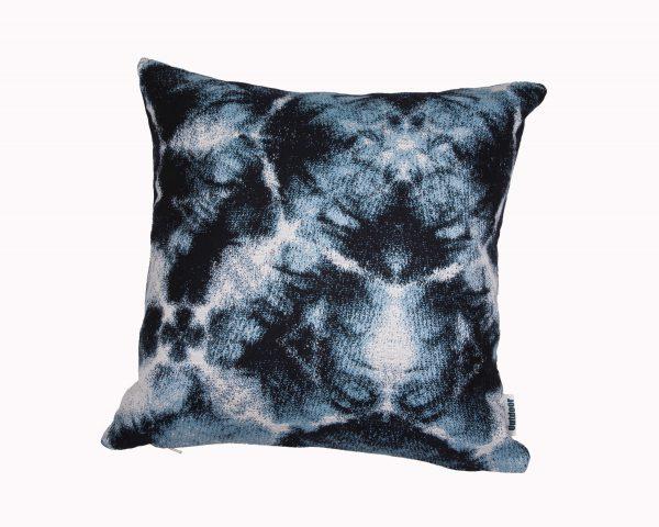 Santorini Blue 40x40cm Sunbrella outdoor cushion from Outdoor Interiors