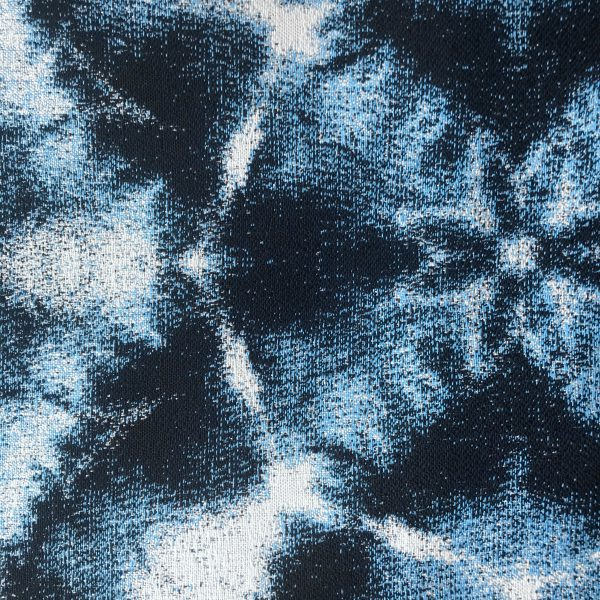 Santorini Blue Sunbrella fabric swatch from Outdoor Interiors