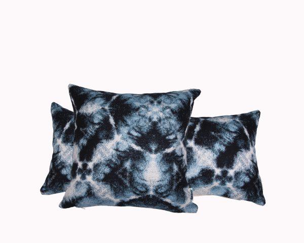 Santorini Blue Group Sunbrella outdoor cushion from Outdoor Interiors