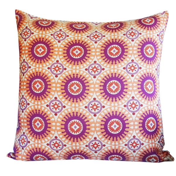 Marrakesh Orange 85x85cm floor cushion