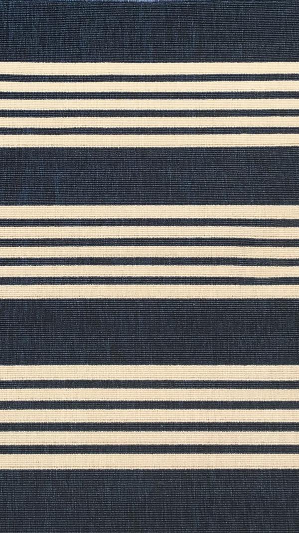 Mariona Navy Blue polypropylene outdoor rug