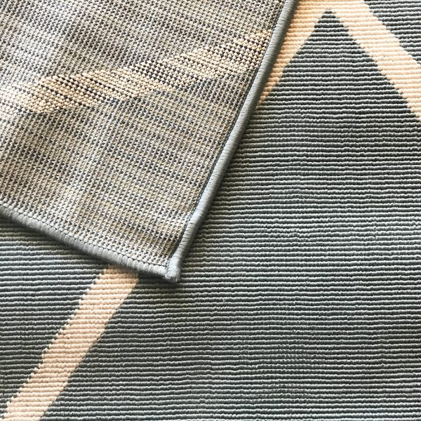 Tuscan Aqua Blue PET outdoor rug