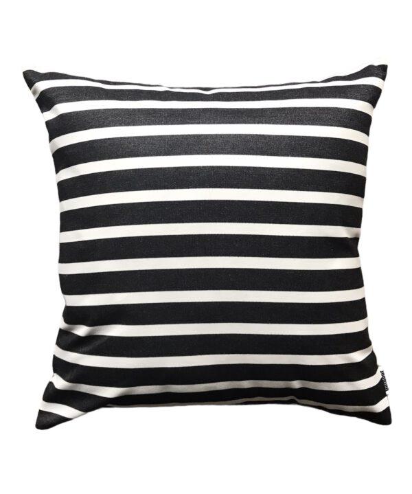 Sorrento Black50x50cm Sunbrella Fade and Water Resistant Outdoor Cushion