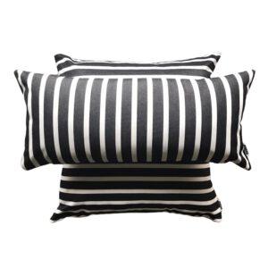 Sorrento – Black – Outdoor Cushion