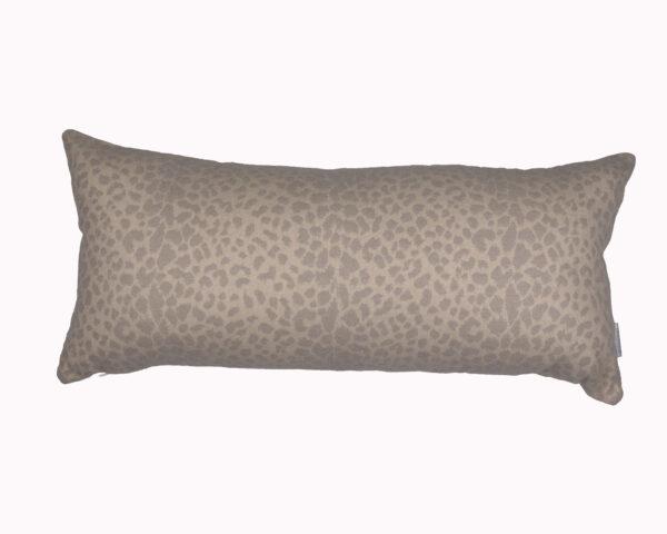 Kenya Silver Grey 30cmx65cm Sunbrella outdoor cushion from Outdoor Interiors