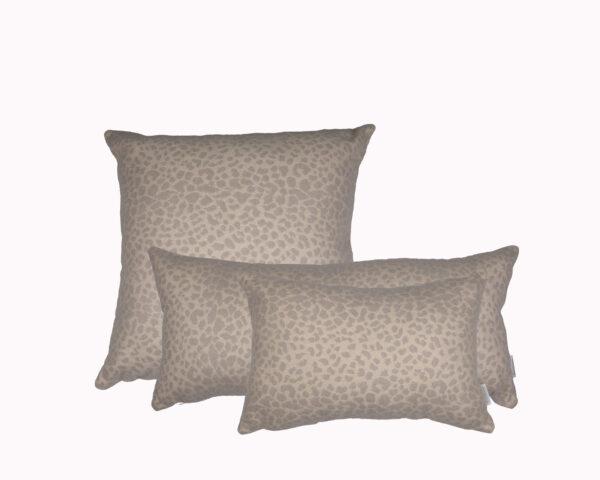 Kenya Silver Grey group Sunbrella outdoor cushion from Outdoor Interiors