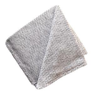 Sunbrella Throw Zagg Granite